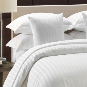 Bộ drap vải sọc Hàn Quốc T260 100 Cotton satin 100% 200cm x 220cm x 30cm