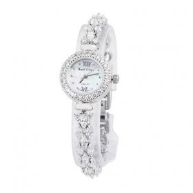 Đồng hồ nữ chính hãng Royal Crown 5266 dây đá vỏ bạc
