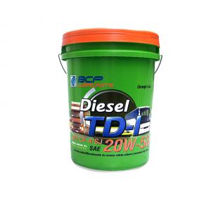 Dầu nhớt động cơ Diesel BCP TD1 CF4/SJ - SAE 20W50 18L nhập Khẩu Thái Lan