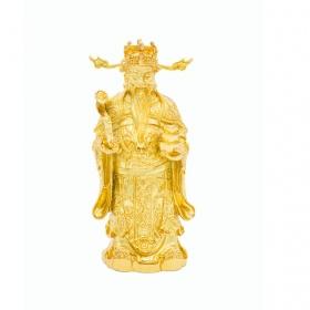 Tượng ông thần tài mạ vàng 24K – TTTA
