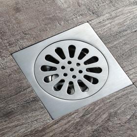Phễu thoát sàn chống mùi hôi inox Zento TS123