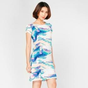 Đầm suông họa tiết HK 599