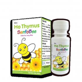 Ho Thymus Sanfobee - Giảm ho, long đờm, sát khuẩn