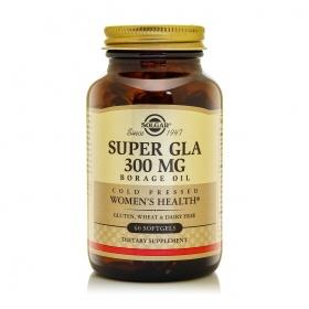 Nhập khẩu USA chính hãng -  Solgar® Super GLA 300mg 60 viên nang mềm - tặng kèm áo thun