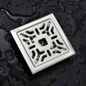 Phễu thoát sàn chống mùi hôi inox Zento TS104 (100*100)