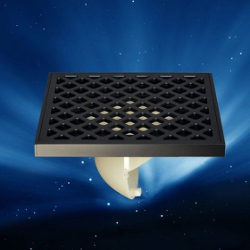 Thoát sàn chống mùi black series Zento ZT674-1B.
