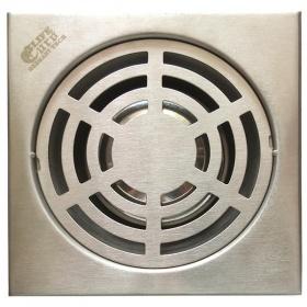 Hố ga thoát sàn inox 15x15cm Eurolife EL-X14 (trắng bạc)