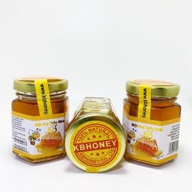 Combo 3 lọ mật ong nguyên chất KB 70ml 1 Lọ