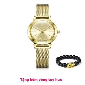 Đồng hồ nữ julius Hàn Quốc ja-732 ju970 (vàng) -tặng kèm vòng tùy hưu