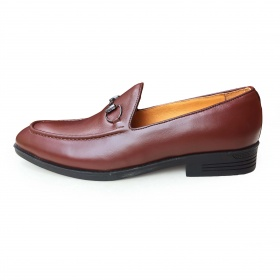 Giày tây nam da bò thật chính hãng GCS42 Geleli