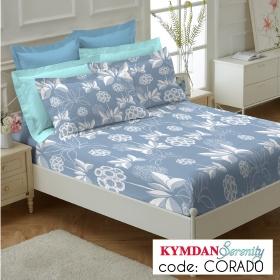 Drap Kymdan Serenity 160 x 200 cm (drap + áo gối nằm) CORADO