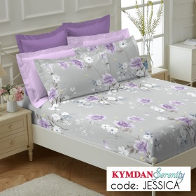 Drap Kymdan Serenity 160 x 200 cm (drap + áo gối nằm) JESSICA