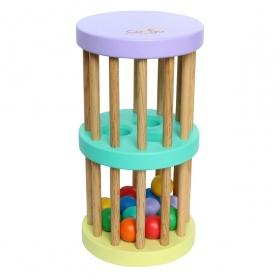 Trống lắc bi 2 tầng đồ chơi cho bé – 60143