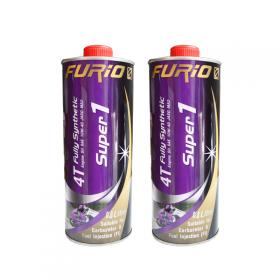 Combo 2 chai nhớt xe máy tổng hợp toàn phần 100% Thái Lan nhập khẩu - BCP SUPER 1 Fully Synthetic - 10W40 SN - 0.8 Lít