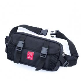 Túi bao tử đeo chéo nam Glado GEAR - GAR001 (màu đen)