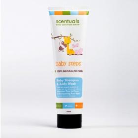 Dầu gội và sữa tắm cho bé Scentuals - Baby Shampoo & Bodywash