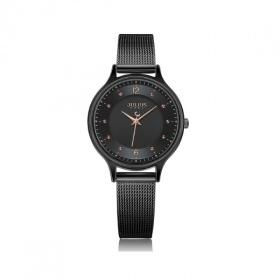 Đồng hồ nữ dây kim loại Julius Hàn Quốc JA-1060E đen