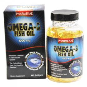 Viên uống dầu cá Omega 3 Fish Oil Pharmekal - 100 viên