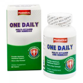 Viên uống bổ sung vitamin và khoáng chất One Daily Multivitamin and Mineral Pharmekal - 60 viên