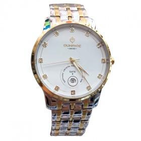 Đồng hồ nam Sunrise 1130SA chính hãng (full box + thẻ bảo hành 3 năm) kính sapphire chống xước - chống nước - dây thép chống dỉ 316l