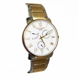 Đồng hồ nam Sunrise DM747SWC 6 kim chính hãng (full box + thẻ bảo hành 3 năm) kính sapphire chống xước - chống nước - dây thép chống dỉ 316l