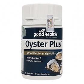 Thực phẩm chức năng tinh chất hàu biển NewZeland GoodHealth Oyster Plus - 60 Viên