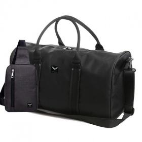 Combo túi du lịch Laza TX367 và túi đeo TX361 - đen