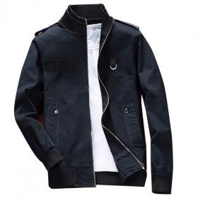 Áo khoác kaki nam cao cấp dáng áo đứng, phù hợp nhiều phong cách KVN03