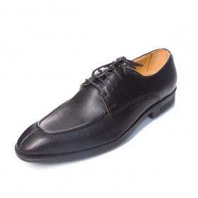 Giày tây nam da thật buộc dây Geleli