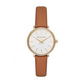 Đồng hồ nữ chính hãng Michael Kors MK2801 bảo hành toàn cầu - Máy pin dây da tổng hợp
