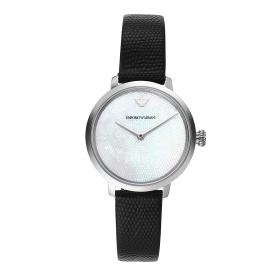 Đồng hồ nữ chính hãng Emporio Armani AR11159 bảo hành toàn cầu - Máy pin dây da tổng hợp