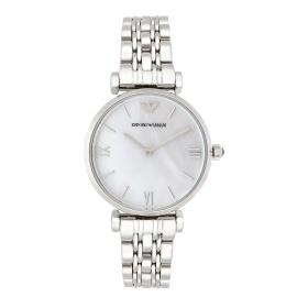 Đồng hồ nữ chính hãng Emporio Armani AR1682 bảo hành toàn cầu - Máy pin dây thép không gỉ