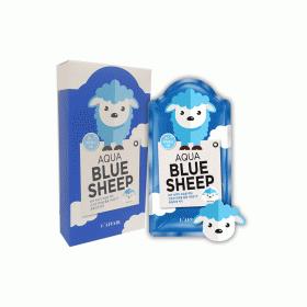 Mặt nạ dưỡng ẩm, chống lão hóa Rainbow L'affair Aqua Blue Sheep Mask (10 miếng x 25ml)