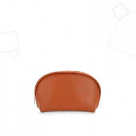 Túi mỹ phẩm nữ dáng sò Idigo FB2-007-00