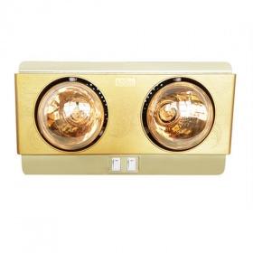 Đèn sưởi nhà tắm 2 bóng Kohn KN02G 550W - hàng chính hãng