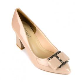 (GIÁ ĐỘC QUYỀN) Giày cao gót êm chân Sunday CG43 kem