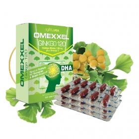 Viên uống hoạt huyết dưỡng não Omexxel Ginkgo 120 (30 viên) - chính hãng Mỹ