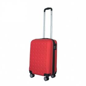 Vali nhựa kéo, du lịch Trip P13 size 50cm màu đỏ (TẶNG THẺ TREO VALI)