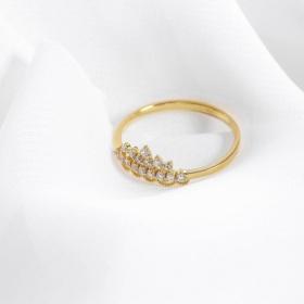 Nhẫn vàng DOJI cao cấp 14K 0819R-LAL305