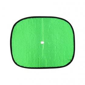 Che nắng ô tô xốp tròn nhỏ loại dày NB BST-11035 màu lá