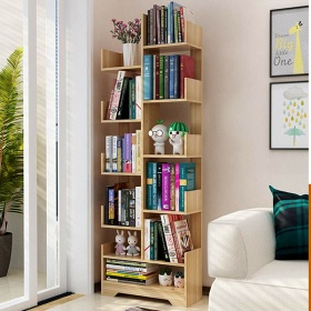 Kệ sách thông minh kệ sách để sàn cao cấp 11 tầng, gỗ mdf  phủ melamin chống nước chống xước gp66