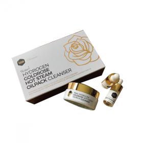 Bộ sản phẩm nóng sạch hoa hồng vàng lisse real hydro gold rose hotseam oilpack cleanser