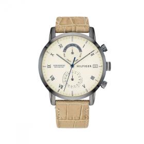Đồng hồ Tommy Hilifger 1710399 nam lịch thứ ngày dây da 44mm