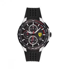 Đồng hồ Ferrari 0830732 nam chronograph lịch ngày dây cao su 44mm