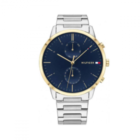 Đồng hồ Tommy Hilifger 1710408 nam lịch thứ ngày dây demi 44mm