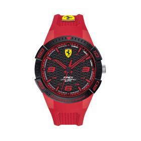 Đồng hồ Ferrari 0830748 nam dây cao su 44mm