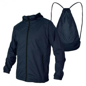 Áo khoác dù nhẹ chống nước  2 trong 1 chuyển đổi thành túi balo bonado bkd32 (có túi trong)