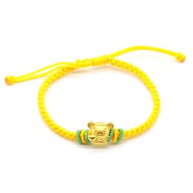 Vòng charm phong thủy Kim tý phát lộc vàng 24K DOJI CB60059 - Vàng - Freesize
