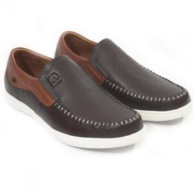Giày lười nam Pierre Cardin PCMFWLD098BRW màu nâu