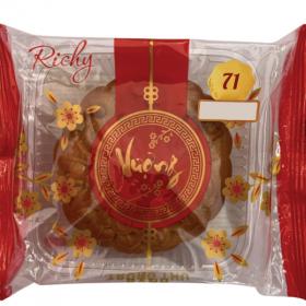 Bánh trung thu Richy - bánh nướng sen nhuyễn 01 trứng 150g